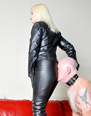 Leather Clad Smother