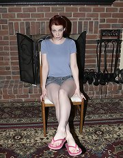 Mistress Sidney foot play